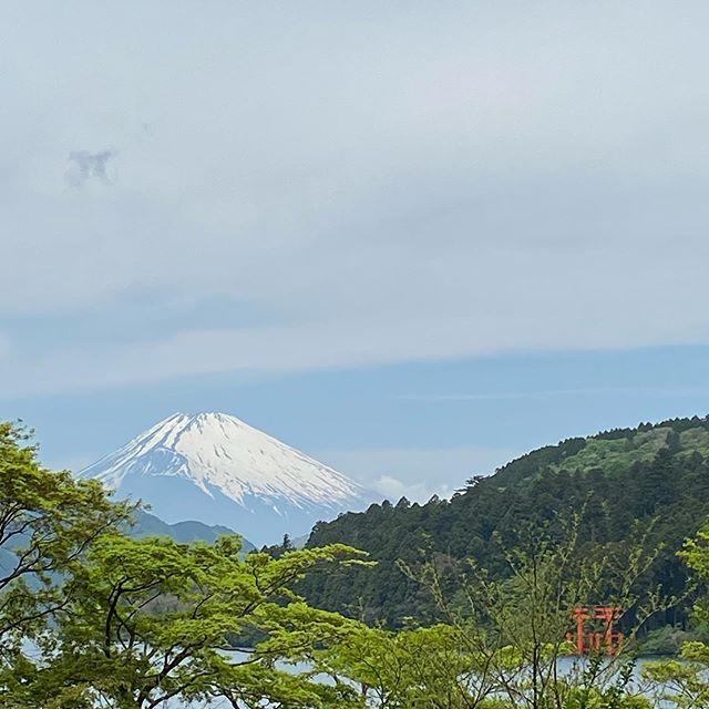 景色は新緑から初夏へと移り、箱根山は静かに時を刻んでいます。移動中にあった湖尻にあるホテル花月園さんのつつじの花が美しく咲いていました。花の一途な美しさに癒される時間になりました!新型コロナウイルスに対する警戒は引き続き怠ることなく乗り越えていきたいです。#箱根#芦ノ湖#富士山#花月園#箱根新緑